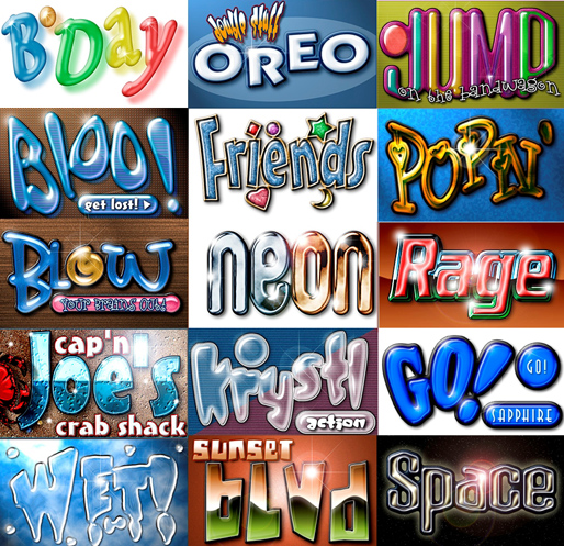 graphics pack font action scripts