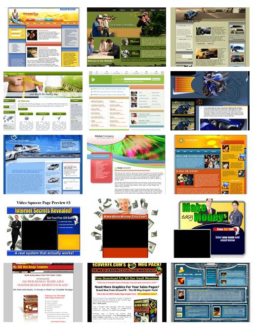 website templates pack